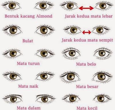 Arti 10 Bentuk Mata Mencerminkan Kepribadian Seseorang