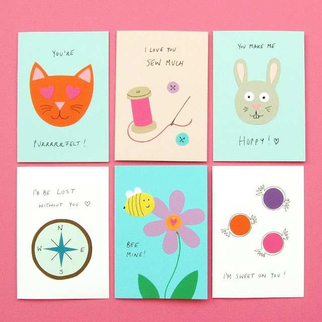 Cute Pun-tastic Valentine's Day Cards