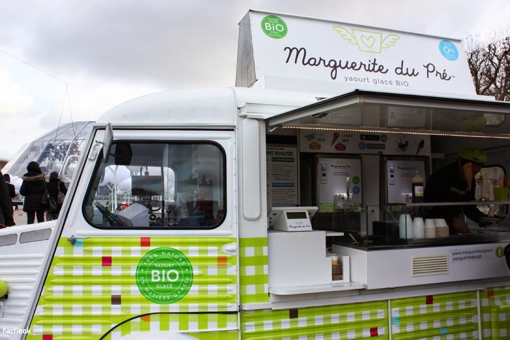 Marguerite du Pré Téléthon 2014 Food Truck party sur le Champs-de-Mars
