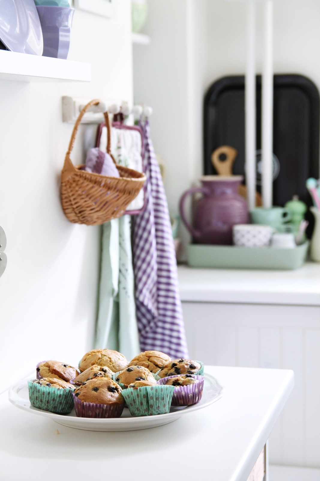 No sugar muffins for kids