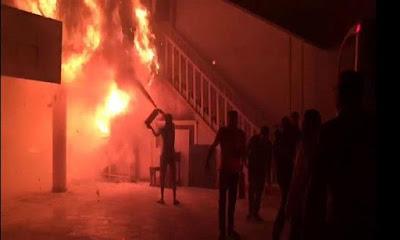 حريق سوق المعمورة, الاسكندرية,