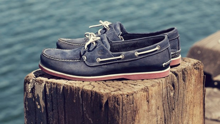 scarpe da barca uomo