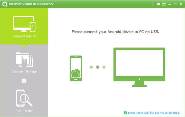 Recover Contacts on Android using windows PC