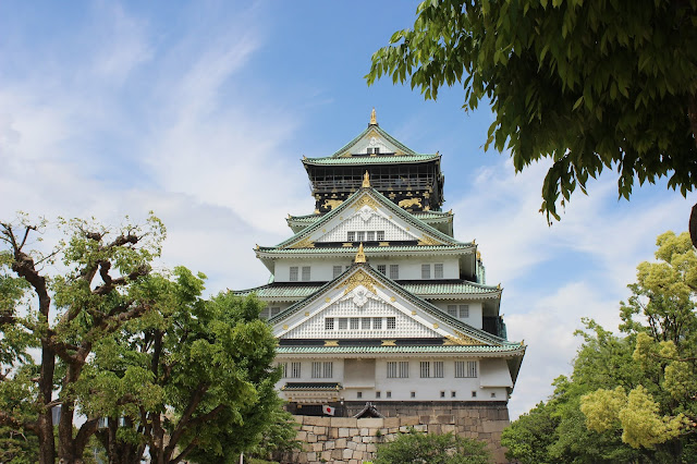 Golden Week Vacay 2018: Osaka Castle + Capsule Hotel