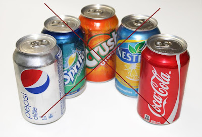 avoid drinks, juices, soft drinks