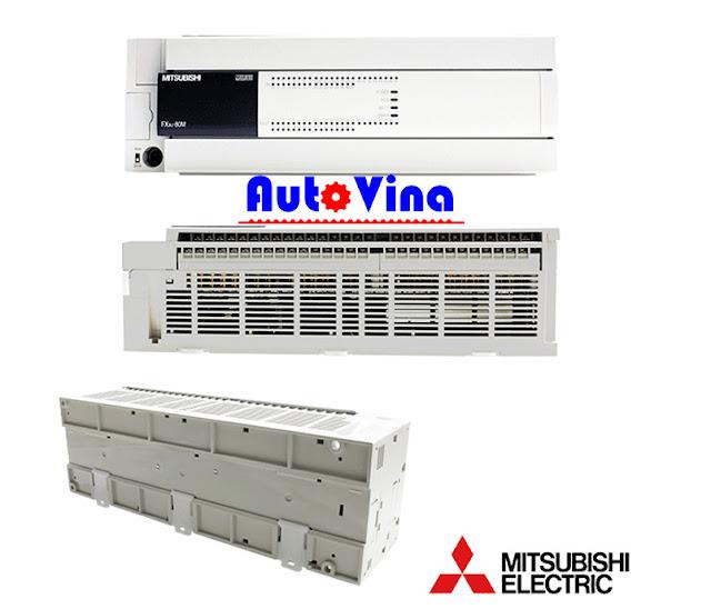 Auto Vina chuyên phân phối sản phẩm PLC Mitsubishi FX3U-80MR/ES-A