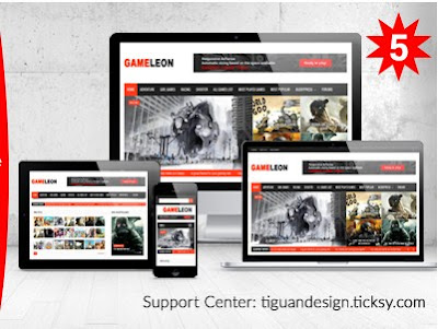 Gameleon v5.7 Wordpress Magazine, Arcade Theme