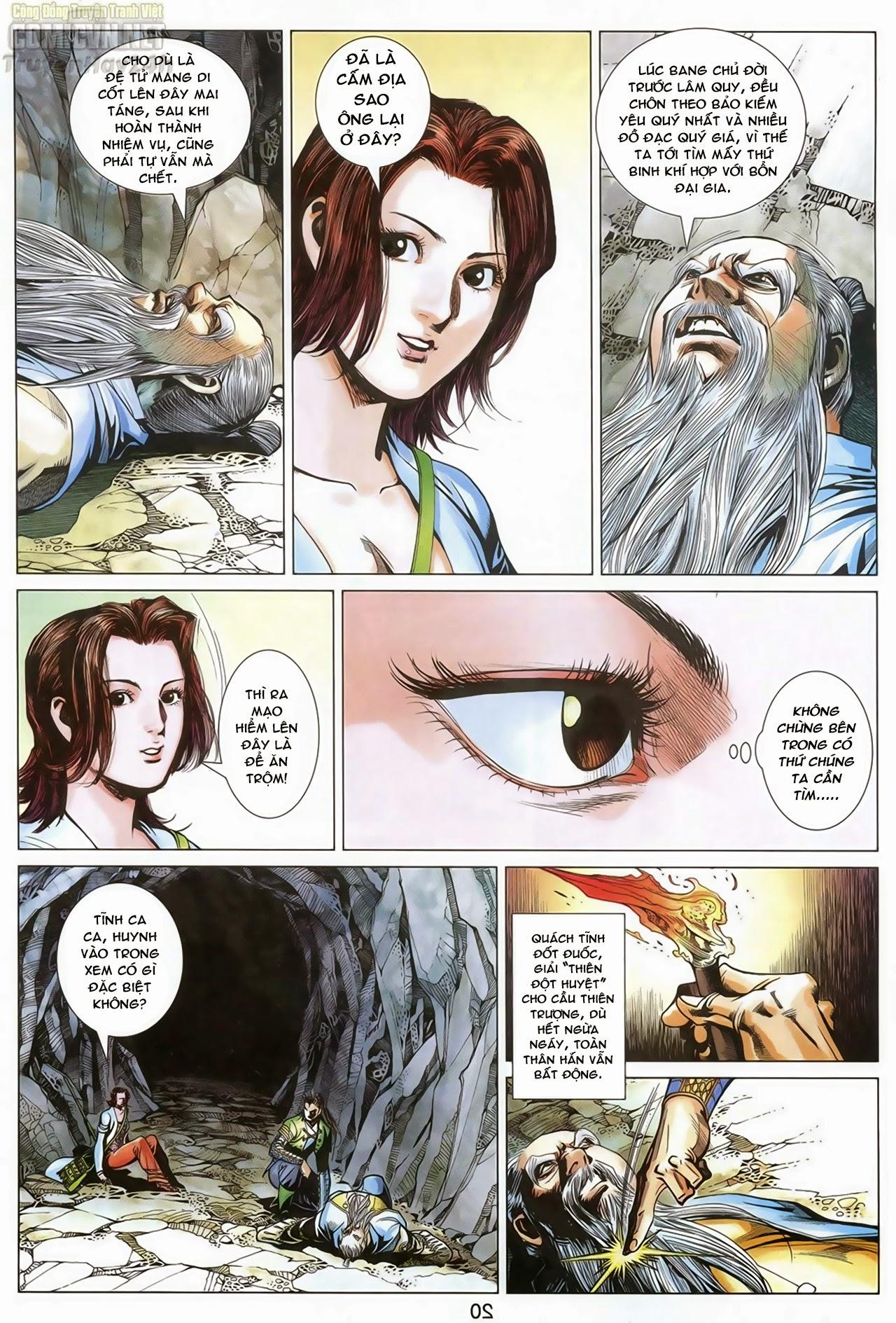 Anh Hùng Xạ Điêu anh hùng xạ đêu chap 69: hồn đoạn thiết chưởng phong trang 21