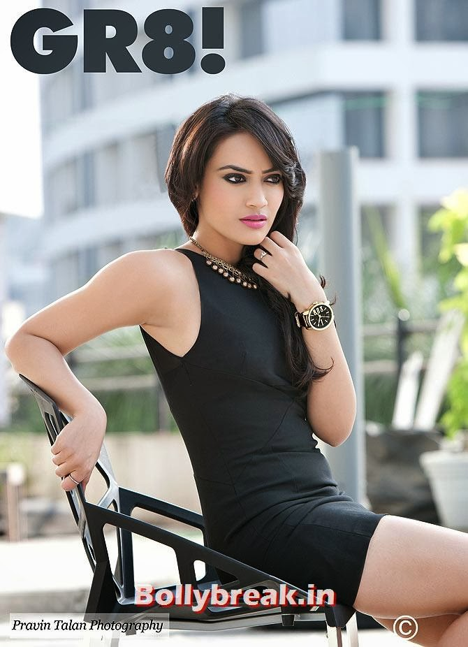 Surbhi Jyoti,  Surbhi, Sana & Hunar on GR8 Magazine Cover - Hot Indian Tv Actresses