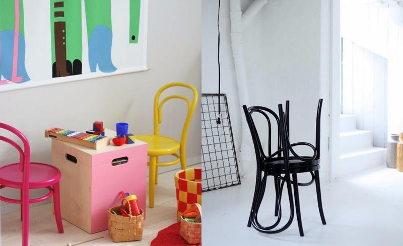 Clásicos del diseño industrial las sillas Thonet