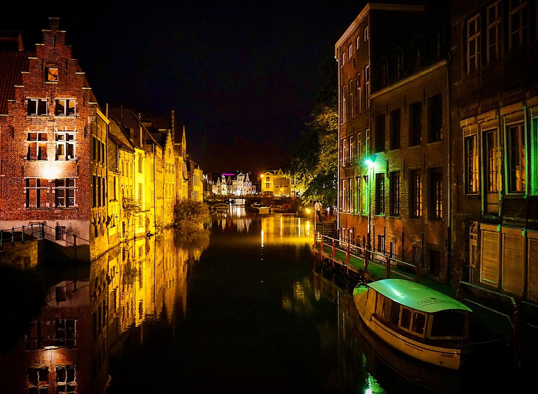 Le Chameau Bleu - Reflets  de Gand - Week end à Gand en Belgique