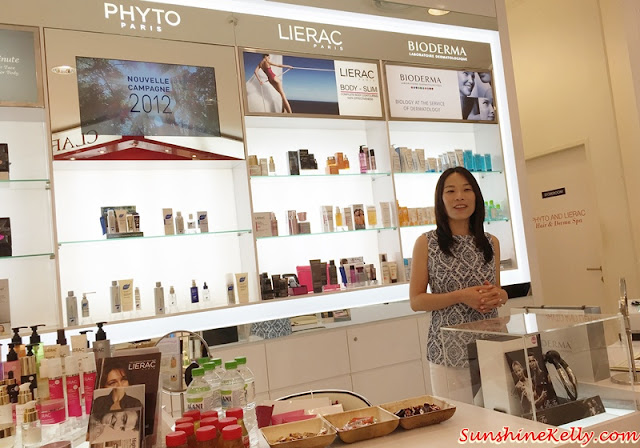 Phyto Hair Spa Experience, Phyto Malaysia, Phyto botanical hair care, phyto, robinsons, the gardens mall, phyto workshop