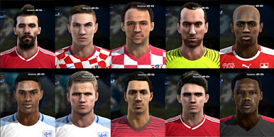 New Facepack v3, 2016 Pes 2013 by bradpit62