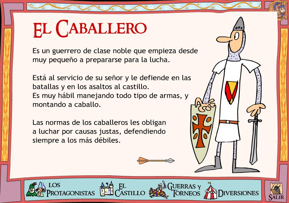 El blog de la profe marta la sociedad medieval - Castillos para ninos de infantil ...