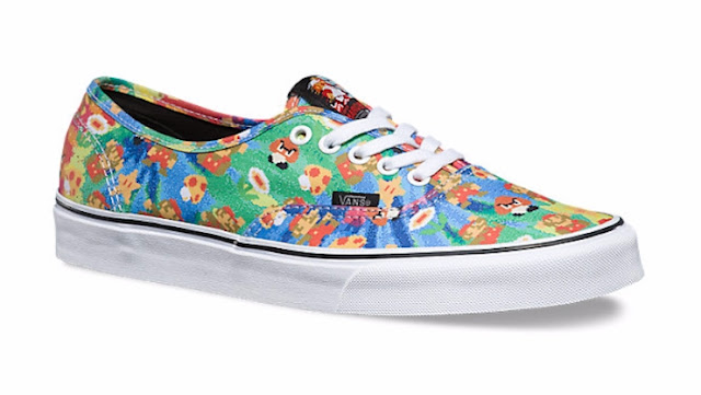Vans Launch Footwear With Nintendo Partnership