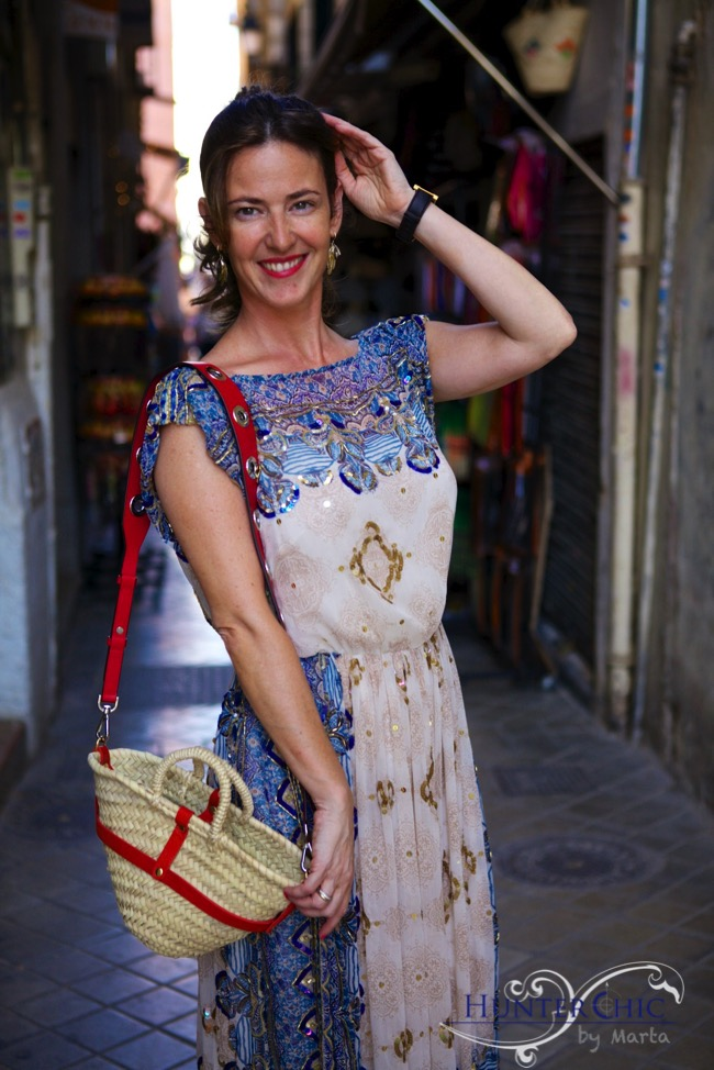 Influencer española-fashionblog-vestido midi-martahalcon de villavicencio-hunter chic by marta