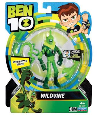 BEN 10 - Wildvine | Malayerba : Figura de acción | Muñeco | Serie Televisión Boing - Videojuegos 2017 | COMPRAR JUGUETE - TOYS - JOGUINES caja
