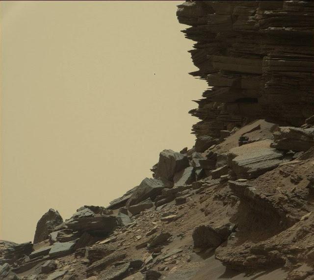 mars rover find ufo