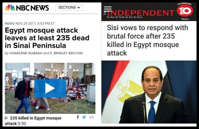 """""""KEANEHAN"""" Serangan Teroris di Sinai Mesir yang Tewaskan 235 Saat Shalat Jum'at"""