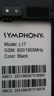 Symphony L17 Flash File | Free Firmware File Without Password