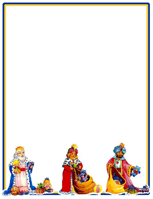 Worksheet. Bordes Decorativos Bordes decorativos de Carta a los Reyes Magos