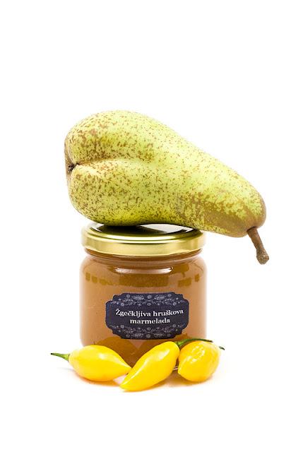 Hruškova marmelada in Beni Higland čili