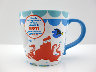 Disney Store Finding Dory Disappearing Hank Cast Mug