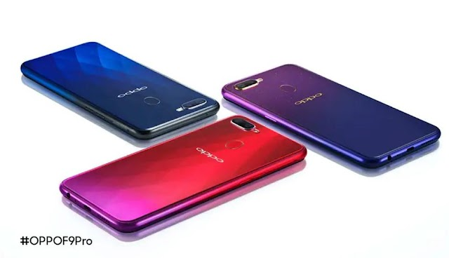 Oppo F9 is Available in India at 19990, 16 MP front camera is a specialty