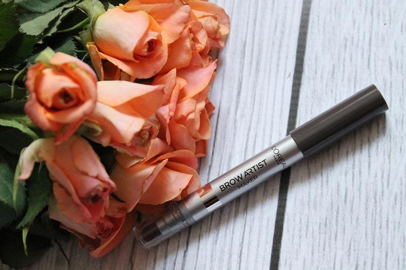 loreal brow artist marker dark brunette