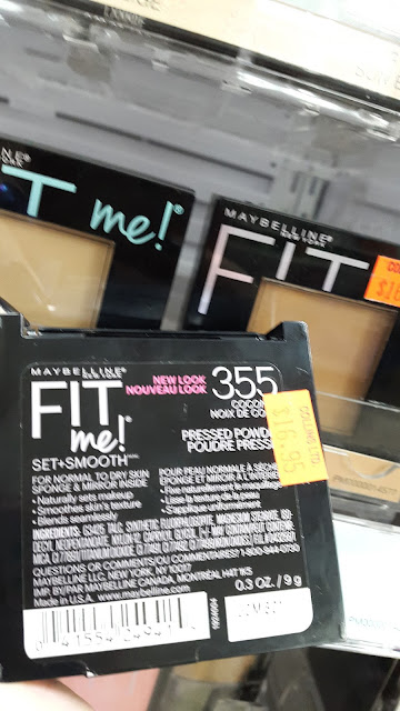 Maybelline Fit Me! Powder display www.modenmakeup.com
