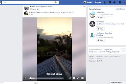 Cara Agar Video Facebook Tidak Play Otomatis Di Hp Dan PC