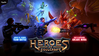 game Moba Android terbaik terpopuler - Heroes of soulcraft
