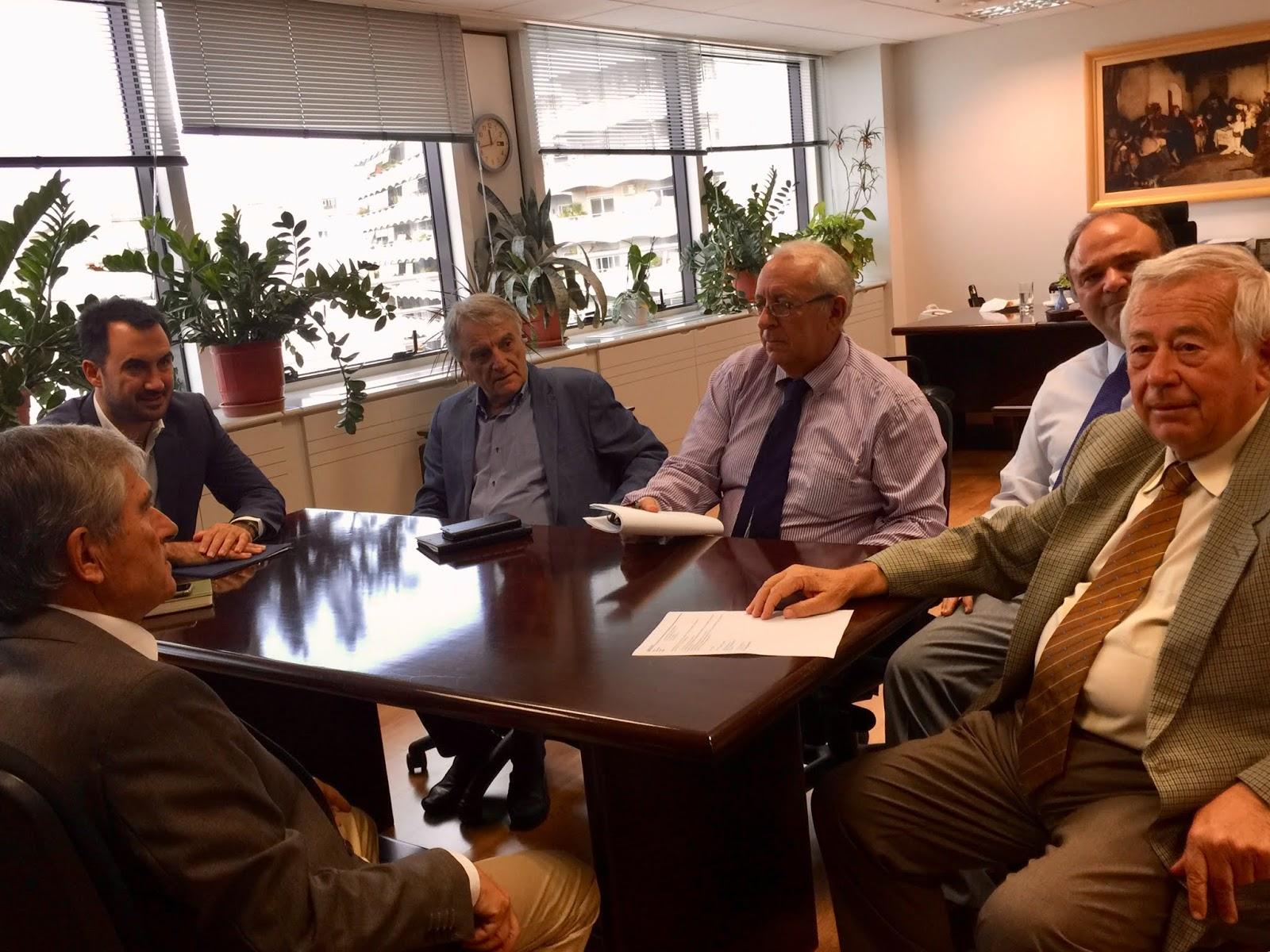 Συνάντηση του Υπουργού Εσωτερικών  με τον Πρόεδρο του ΑΣΕΠ, Ιωάννη Καραβοκύρη