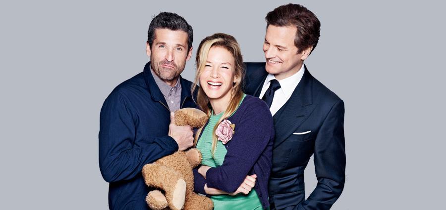 Bridget Jones' Baby - Reparto - Renée Zellweger, Colin Firth  y Patrick Dempsey