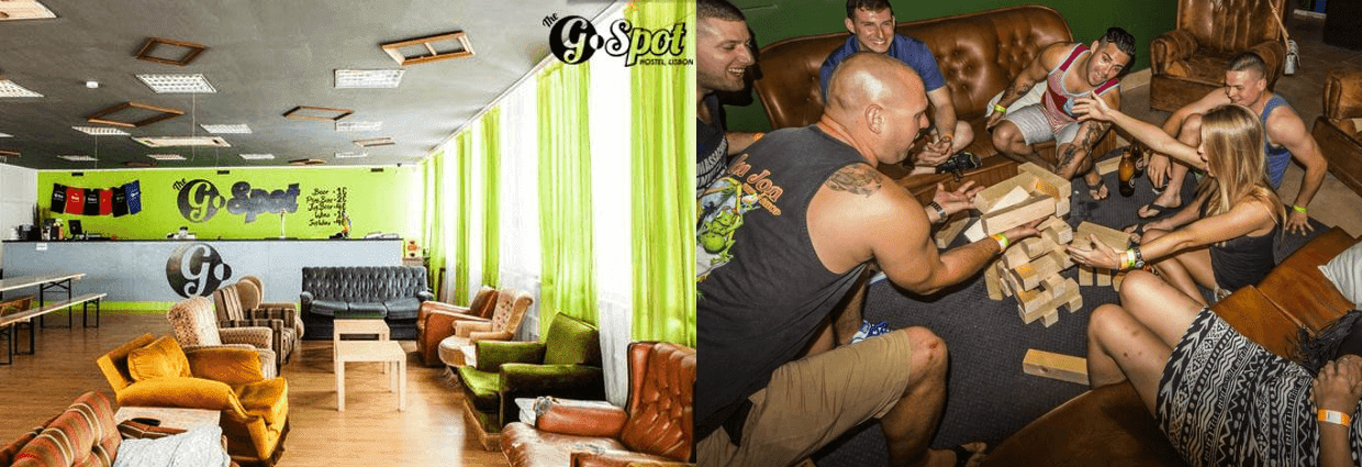 G Spot Party Hostel Lizbon Portekiz