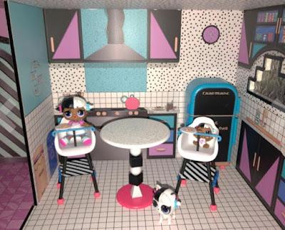 Кухня в кукольном домике ЛОЛ Сюрприз 2018 года