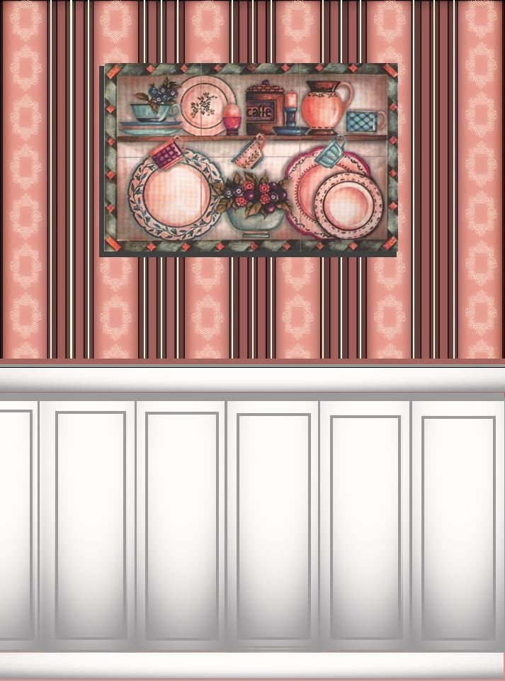 Printable Dollhouse Kitchen Cabinets