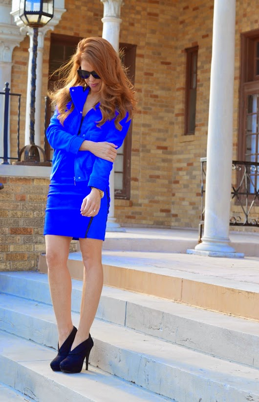 Everyday New Fashion: Cobalt Cobalt  | Everyday New Fashion