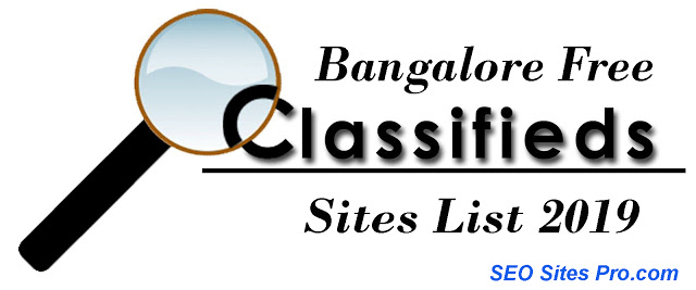 Bangalore Classified Sites List