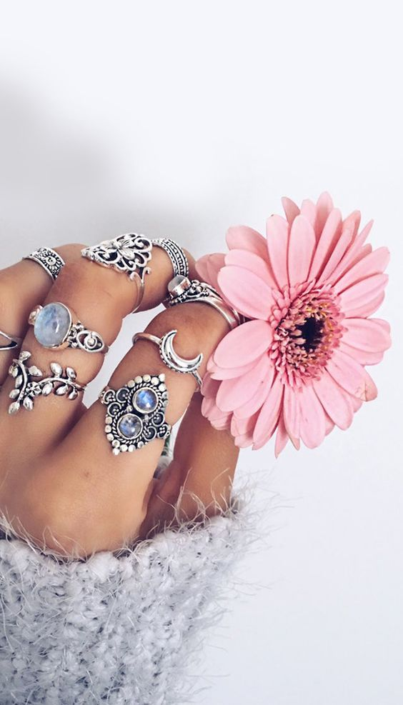 Beautiful Boho Silver Jewelery