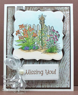 "Our Daily Bread designs ""Missing You"" Designer Randi Barrett"