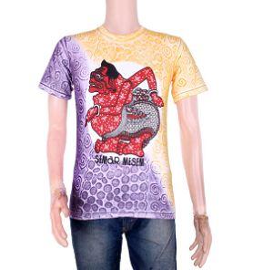 Foto Kaos Batik Modern