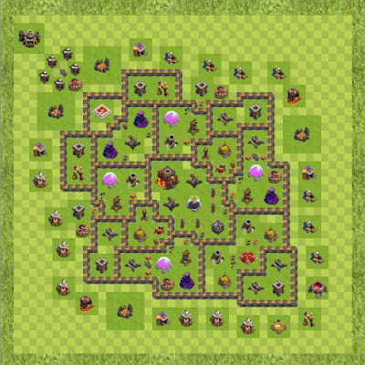 War Base Town Hall Level 10 By ElectroGamingYT14 (unbreakable TH 10 Layout)