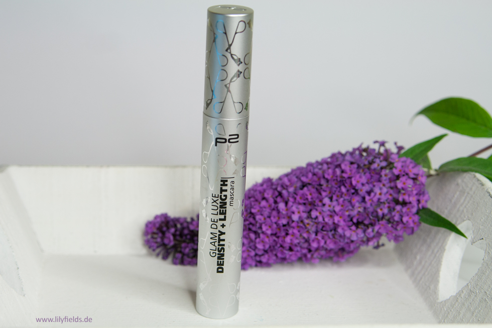 p2 glam de luxe density + length mascara