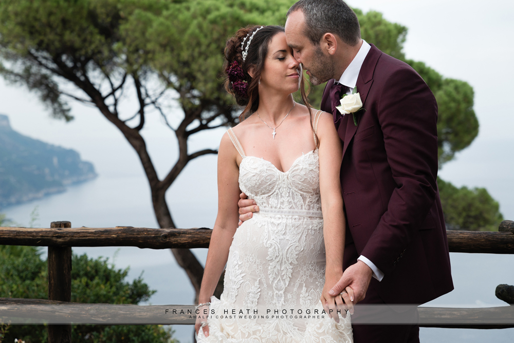 Romantic wedding in Ravello