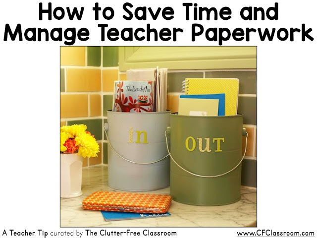 Teachers have a constant flow of papers coming in and out of the classroom. This system for managing papers will make it easy for you to stay on top of teacher paperwork.