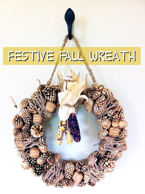 Simple Door Wreath You Can Make For Instant Autumn Style