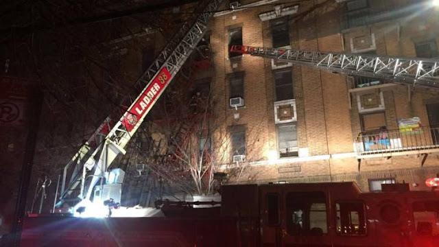 NUEVA YORK: Al menos doce muertos en mortal incendio en El Bronx