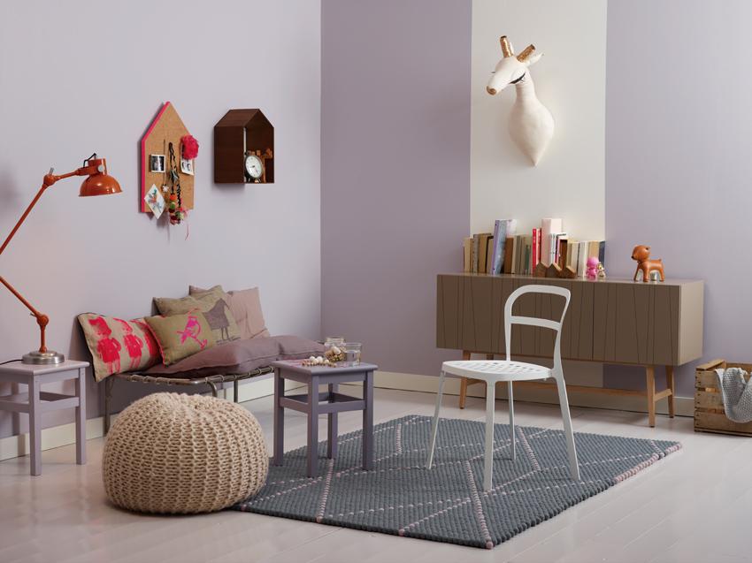pintura grises habitaciones infantiles