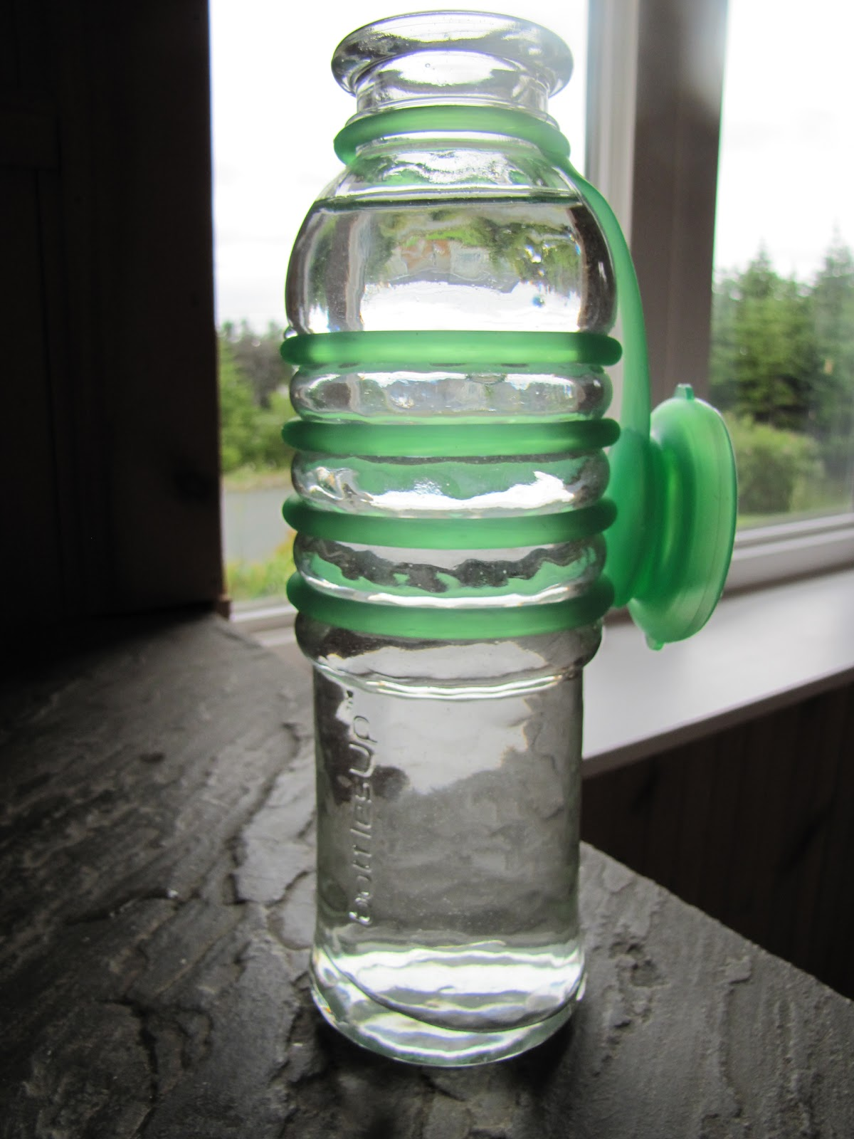 Glass Is Back Bottles Up Glass Water Bottle Review